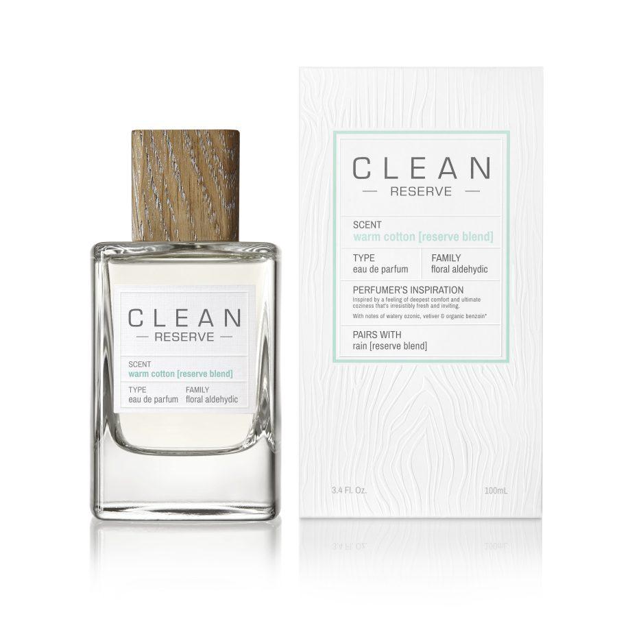 Clean warm cotton eau de parfum il posto bio