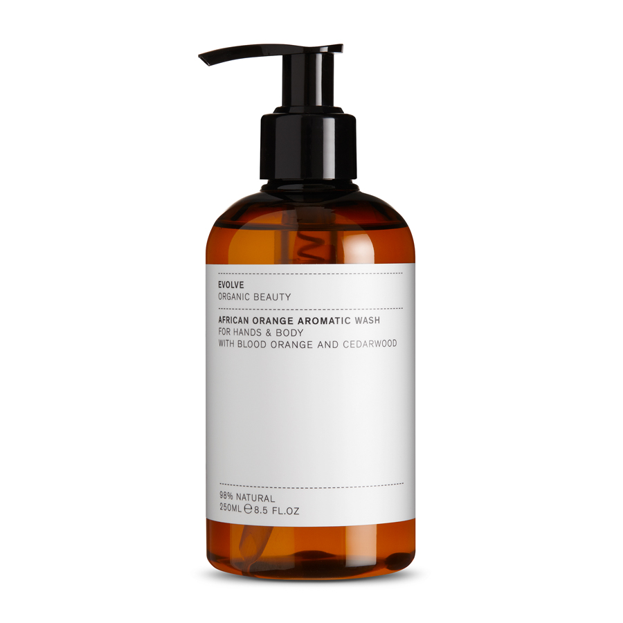 evolve African Orange Aromatic wash il posto bio