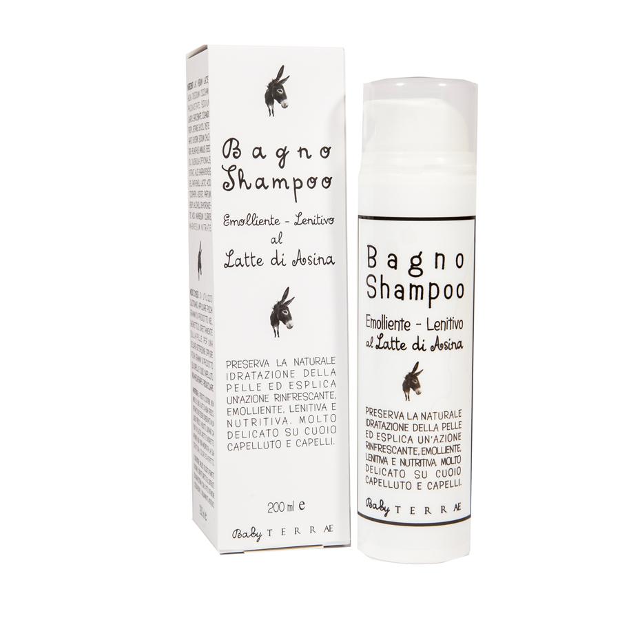 Terrae Baby doccia shampoo il posto bio