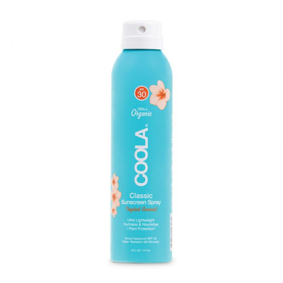 Coola spray30 Pina colada il posto bio