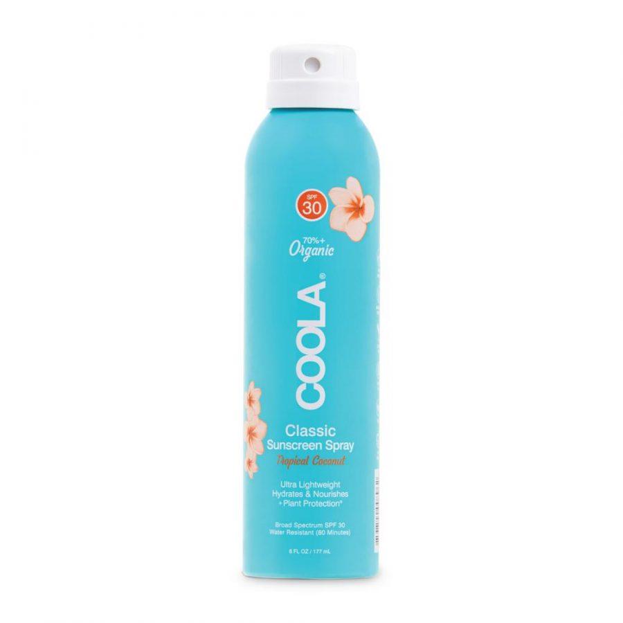 coola spray30 tropical coconut il posto bio